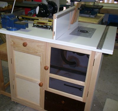 homemade router tables